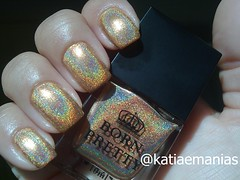 H010 - Heart Of Gold (Born Pretty) (katiaemanias) Tags: bornpretty unhas unha esmalte esmaltes katiaemanias holográfico holografic nails nailpolish nail importado