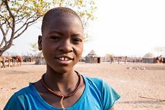 Himba School Girl 8834 (Ursula in Aus) Tags: africa himba himbavillage namibia otjomazeva