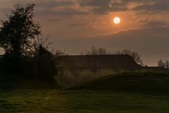 Next to the old castle in Walhain, Belgium (Jean Latteur) Tags: nikon d3300 nikkor walhain castle belgium medieval 18105
