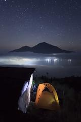 Mount Batur Trekking & Camping (Made Suwita Photography) Tags: batur bali stars mountain night camping