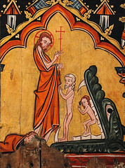 Holy Saturday V - Christ Harrowing Hell (Lawrence OP) Tags: biblical holysaturday jesuschrist mma metropolitanmuseum newyork cloisters