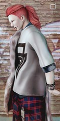 Men's Hair-DURA-B76 AD (Chi('ㅂ')) Tags: dura hair limit8 male mens secondlife