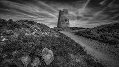 Still standing (Einir Wyn Leigh) Tags: landscape mill quarry mono blackandwhite wales cymru anglesey island stone rocks disused abandoned clouds sky atmosphere love industry history historic grey contrast