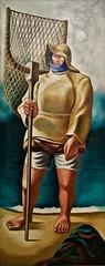 Gulfweed Picker (Minho - 1936) - José de Almada Negreiros (1893-1970)