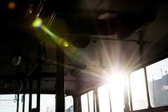 Morning Mood (IK280) BPO-009 (ac.Zadam) Tags: morning sunrise light rays sun commute bus public transport empty ikarus 280 hungary budapest bkv explored bpo009