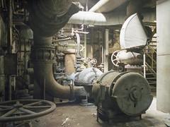 (soho42) Tags: abandoned industry decay lost urbanexploration urbex analog mamiya645protl kodakportapro400