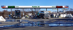 Plaza 23 Truck Stop (dr.tspencer) Tags: albanyny truckstop