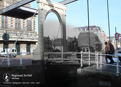 waagplein 1941-2017 (Regionaal Archief Alkmaar) Tags: timewarp alkmaar rephotography wo2 ww2 tweedewereldoorlog secondworldwar