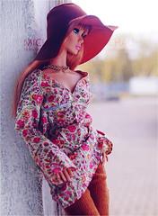 Poppy Parker Starlight (Michaela Unbehau Photography) Tags: poppy parker starlight integrity toys fr pp convention redhead boho hippie hippy bohemian vintage michaela unbehau fashiondoll doll dolls toy photography mannequin model mode puppe fotografie