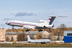 RA-85534 (2) (Shnipper) Tags: russianairforce tupolev tu154b2 takeoff shnipper spotting aircraft tsyupka ra85534 airplane military cargo pentax k7 tokina80400