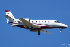 Private --- Cessna 560XL Citation XLS+ --- YU-PZM (Drinu C) Tags: adrianciliaphotography sony dsc rx10iii rx10 mk3 mla lmml plane aircraft aviation bizjet privatejet private cessna 560xl citation xls yupzm