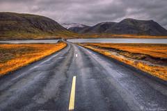 Icelandic Road (Geinis) Tags: iceland ísland road mountain mountains canon sky nature landscape