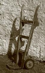 Sack barrow. (IMG_5051) (Robert G Henderson (Romari).) Tags: sack barrow nms nts eastkilbride farm rural life april 2017
