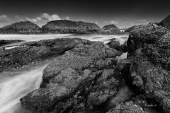 (rainbow wasabi) Tags: rocky rocks beach waves ocean sea water landscape seascape blackandwhite monochrome oregon coast pacific northwest usa america nature
