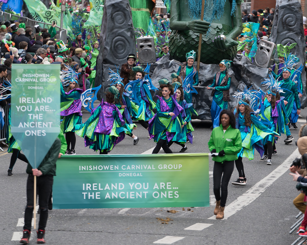 THE INISHOWEN CARNIVAL GROUP [PATRICKS DAY PARADE IN DUBLIN 2017]-126018