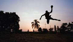 (auston.marek) Tags: contaxg2 africa handball sillouette