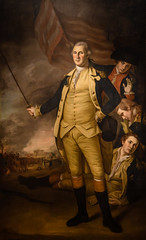Charles Willson Peale - George Washington at the Battle of Princeton, 1784 at Princeton Art Museum Princeton NJ (mbell1975) Tags: general president revolution war princeton newjersey unitedstates us charles willson peale george washington battle 1784 art museum nj museo musée musee muzeum museu musum müze finearts fine arts gallery gallerie beauxarts beaux galleria new jersey painting american portrait