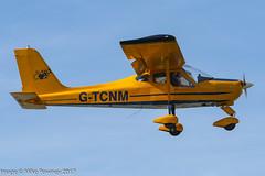 G-TCNM - 2002 build Tecnam P92-EA Echo, on approach to Runway 02 at Caernarfon (egcc) Tags: caernarfon egck echo gtcnm kolev lightroom p92 p92ea pfa31813922 quaife tecnam tobias