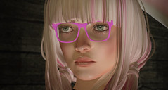 Pink glasses (SpotyPoint) Tags: d037mce201703301409regard regard eyes glasses pink lunettes killbill umathurman uma