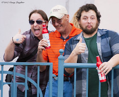 Enjoy! (Casey Laughter) Tags: racehorse turfway thoroughbred horse horseracing horses winner loser fun racing racetrack race track saddlecloth tack gate taa