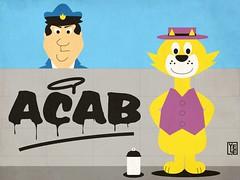 Top Cat (Yelena Maria Drinkie) Tags: gattini topcat acab 1312 illustration digitalillustration cartoon hannabarbera propaganda