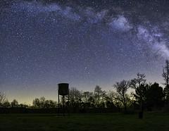 DSCF3205-Pano mikly way snolic (snolic...linda) Tags: arkansas ozarkmountains stars milkyway watertower nightphotography night 501