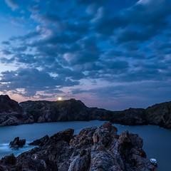Dawn with lighthouse Cap de Creus (vilchesdavid) Tags: lighthouse faro far capdecreus catalonia emporda parcnaturalcapdecreus dawn amanecer sunrise landscape paisaje seascape morning nikond750 sigma24