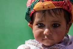 Baby Krishna of Barsana (ZulfiPhoto) Tags: portrait holi festival barsana nandgaon india natgeo celebration colors travelphotography