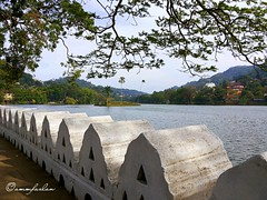 Kandy Lake (ammfazlan) Tags: kandy lake srilanka sri lanka ammfazlan fazlaan fazlan water waterbody historical hillcountry highland hills asia samsung sl southasia outdoor