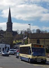 Bakewell Derbyshire 7th April 2017 (The Great Innuendo) Tags: bus bakewell buxton derby matlock derbyshire high peak hulleys trent barton bowers transpeak tmtravel optare evolution dennis alexander enviro