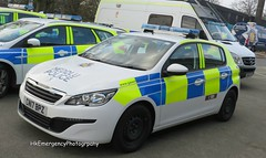 CN17BPZ (HkEmergencyPhotography) Tags: brand new gwent police peugeot 308 irv headquarters incident response vehicle blue lights emergency