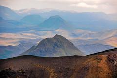 The mountains Rjúpnafell and Hattfell. From the Fimmvörðuháls trail, Iceland (thorrisig) Tags: 17082012 fimmvörðuháls hattfell rjúpnafell iceland ísland island icelandicnature suðurland southoficeland southiceland landscape landslag sigurgeirsson sigurgeirssonþorfinnur dorres thorrisig thorfinnursigurgeirsson þorrisig thorri thorfinnur þorfinnur þorri þorfinnursigurgeirsson greatview view mountains light sunlight