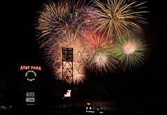 AT&T fireworks (so1150) Tags: nikon d810 2470mmf28 attbaseballstadium sanfrancisco fireworks ps6 layered blended nik giants