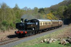 7714 Foley Park 09/04/2017 (Brad Joyce 37) Tags: 7714 panniertank steam locomotive train engine passenger severnvalleyrailway svr foleypark sunshine bluesky nikon d7100