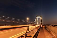 Uerdinger Rheinbrücke (Re Ca) Tags: krefeld rheinbrücke uerdingen duisburg nrw brücke bridge nachtaufnahme longexposure langzeitbelichtung canon eos70d ef1635mm