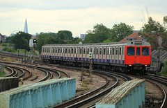 """Goodbye to """"D Stock"""" (D464-Darren Hall) Tags: 7518 londonunderground dstock chiswick"""