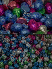 before :: after (dotintime) Tags: before after easter holiday spring celebration chocolate candy kisses rabbit bunny sweet foil color dotintime meganlane