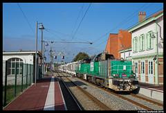 SNCF Fret 460 070, Gravelines 7-10-2016 (Henk Zwoferink) Tags: gravelines nordpasdecalaispicardie frankrijk fr 460 sncf fret henk zwoferink