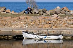 Enjoy Spring (Håkan Dahlström) Tags: 2017 boat hamn harbor kattvik photography port skåne spring sun sweden båstad skånelän xt1 f90 1400sek xc50230mmf4567ois cropped 4626032017153812 båstadv se