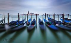 Venice - Early Morning (Achim Thomae) Tags: venice gondolas italy achimthomae