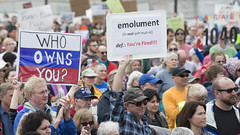 Rally to demand Donald Trump release his tax returns (Fibonacci Blue) Tags: stpaul taxmarchmn taxmarch protest trump rally republican march donaldtrump demonstration gop event twincities minnesota crowd sign people