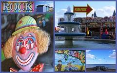 Felixtowe (kathryn Wilkins) Tags: felixtowe beach clown arcades englishseafront seaside suffolk rocks donuts rock sweets fountain beachhuts huts