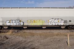 Cycle Spell Arek (Psychedelic Wardad) Tags: freight graffiti nsf arek fs heavymetal hm spel1 spell ba tc5 cycle