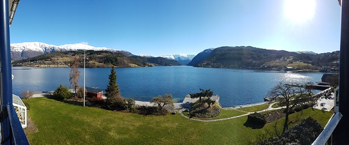 Majestic view from Hotel Brakanes