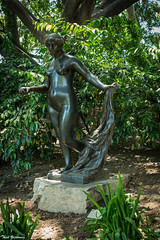 Venus Victorious (Thad Zajdowicz) Tags: zajdowicz pasadena california nortonsimonmuseum availablelight outdoor outside museum canon eos 5dmarkiii 5d3 dslr digital lightroom ef50mmf12lusm 50mm primelens art sculpture pierreaugusterenoir venusvictorious bronze woman nude color green garden colour sensuous beauty beautiful