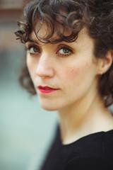 Maisie (Ida H) Tags: portrait face eyes beauty girl woman colour colourportrait shallowdof nikon d810 85mm green greeneyes redlips