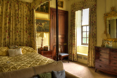 Antony House, Cornwall -  bedroom (Baz Richardson (trying to catch up again!)) Tags: cornwall antony antonyhouse queenannehouses 18thcenturyarchitecture countryhouses
