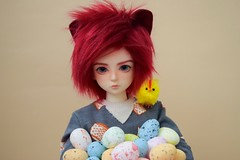 Happy Easter! (kaoru_terashima) Tags: bjd easter msd luts kiddelf yuz yuki