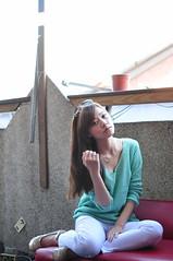 Yibi0012 (Mike (JPG直出~ 這就是我的忍道XD)) Tags: yibi 西門町 d300 model beauty 外拍 portrait 2013 fifi