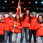 Canada wins team event - Photo by Shea MacNeil - coastphoto.com